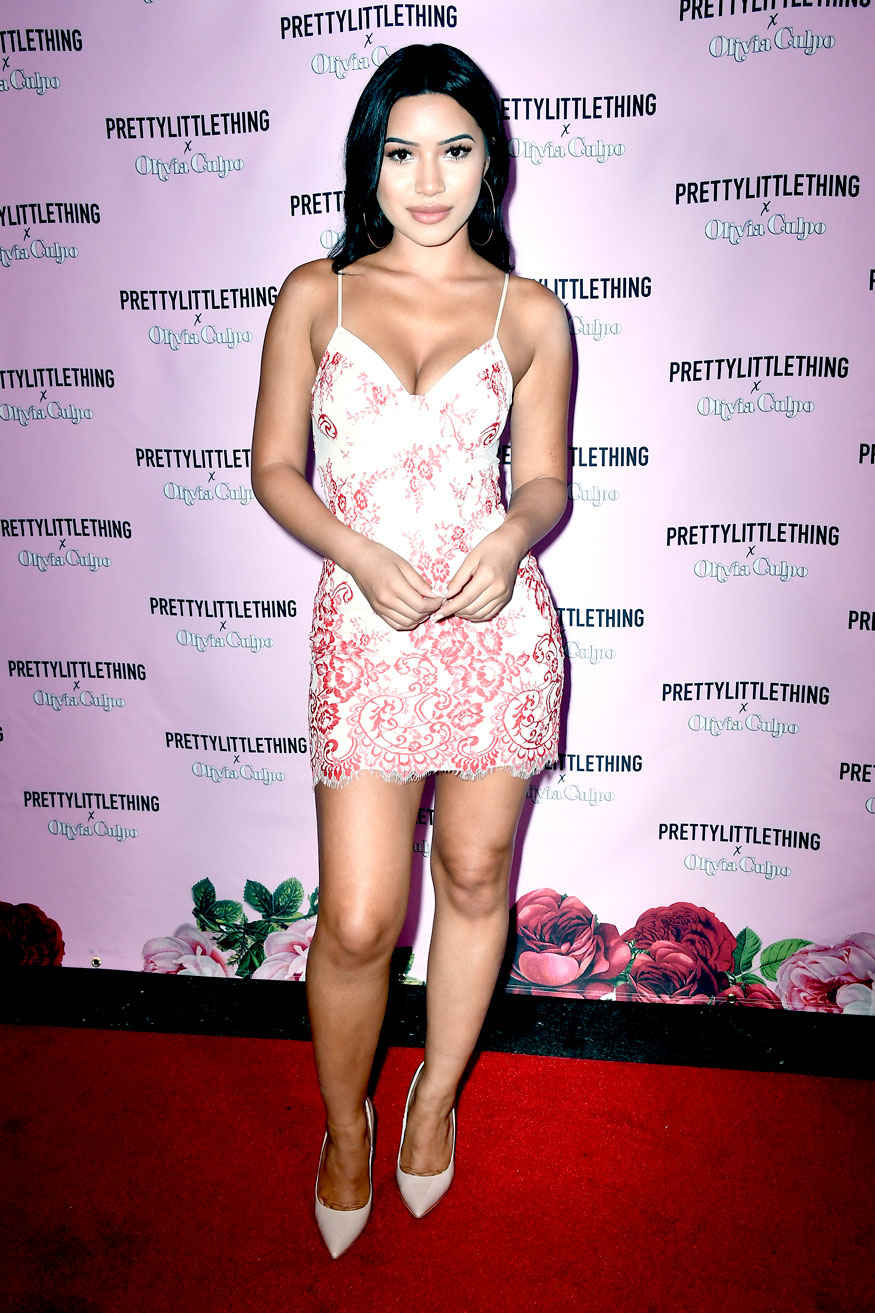 PrettyLittleThing X Olivia Culpo Launch Event In Los Angeles