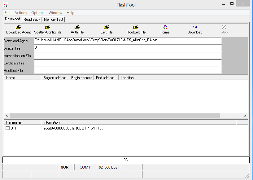 Download Free FlashTool 5.1120.00 With MTK Driver