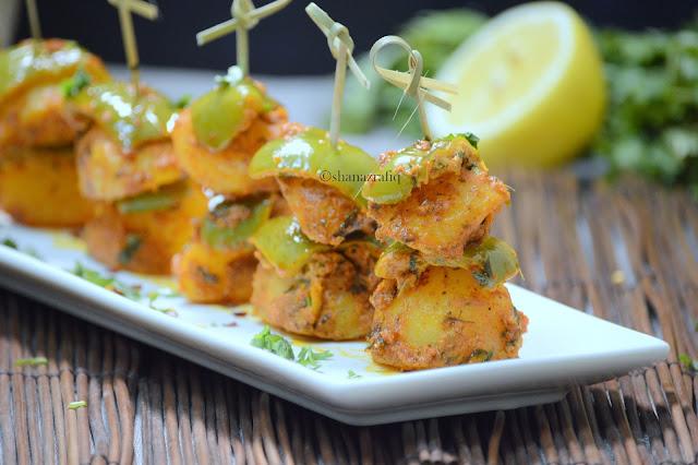 Tandoori Aloo Bites