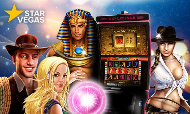 Nuovo StarVegas 2016, nuovo logo e nuovi giochi Casinò Online