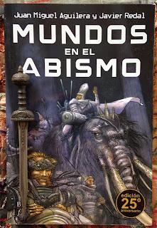Portada del libro Mundos en el abismo, de Juan Miguel Aguilera y Javier Redal