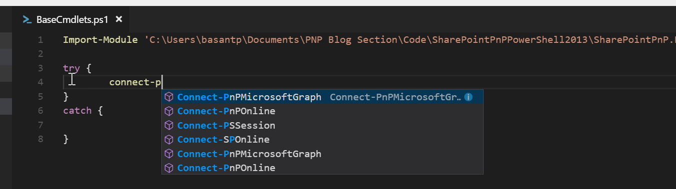 Office 365 With PNP PowerShell 2013: Base Cmdlets