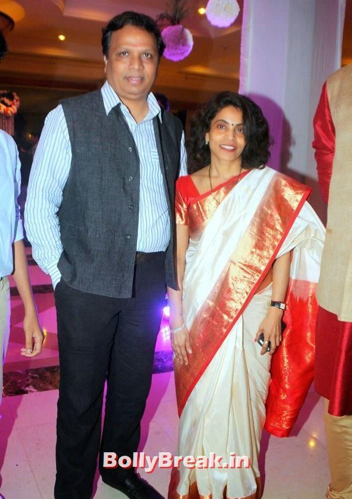 Ashish Shelar, Leena Mogre, Manali Jagtap, Vicky Soor Engagement Ceremony Pics