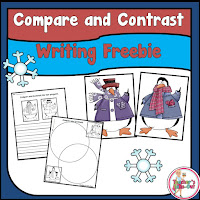 Free Compare and Contrast winter writing