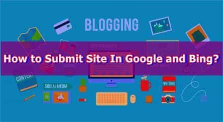 how to submit site to search engine