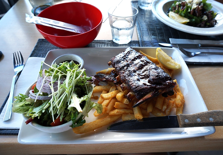 rack of ribs, Cairns, Australia, Euriental