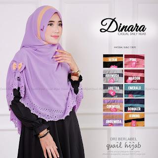 dinara ori quail hijab