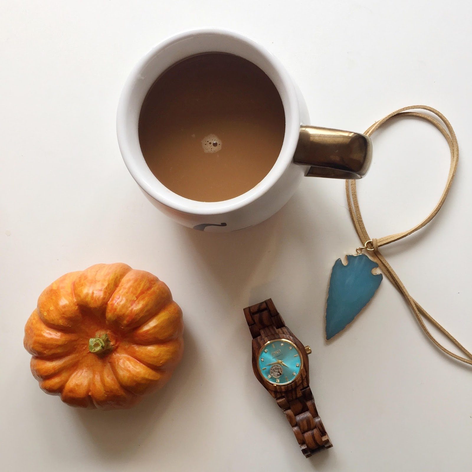 JORD zebrawood and turquoise watch