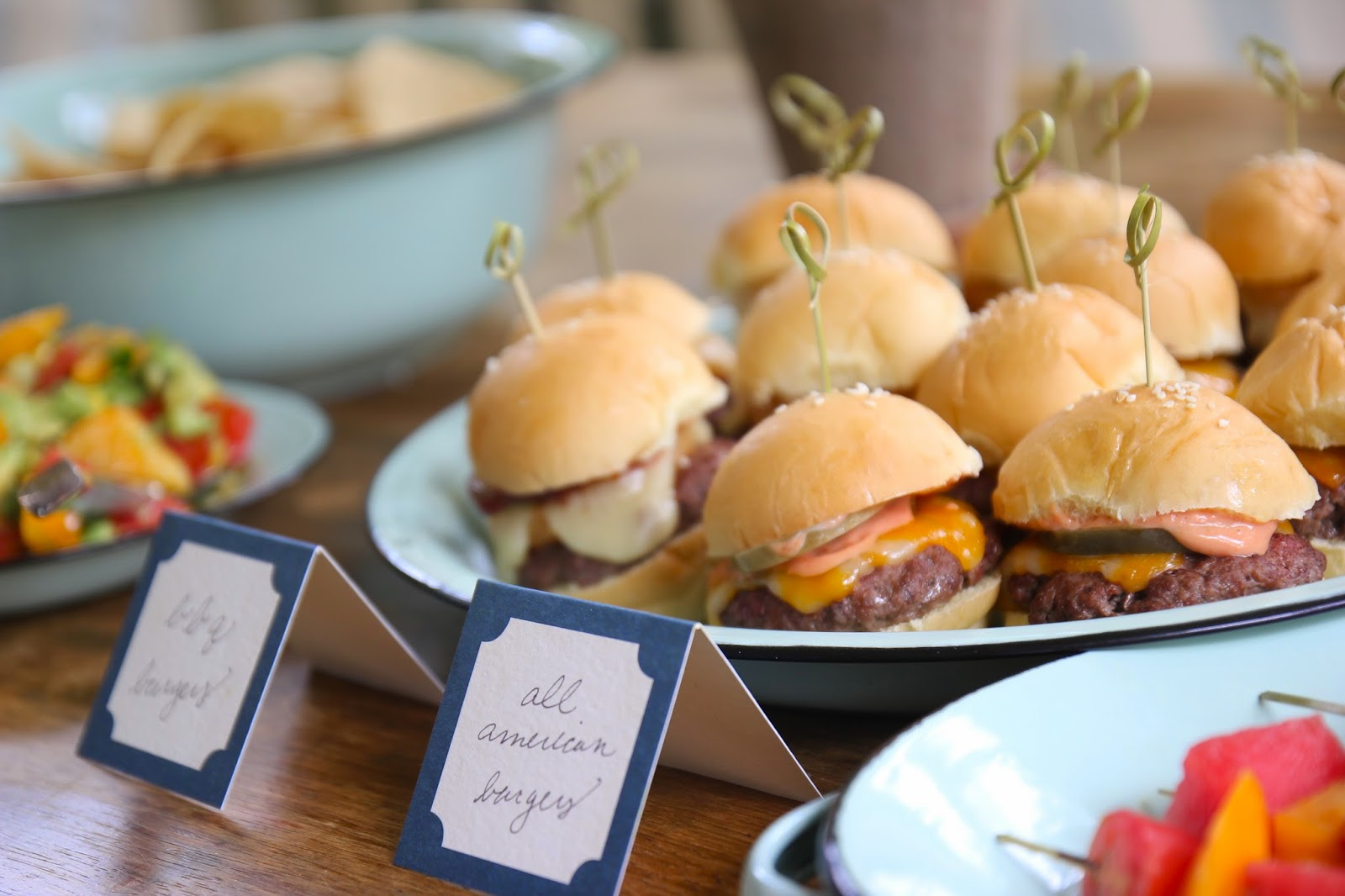 ... Steffens Hobick: BBQ & Onion Ring Sliders | Easy Summer Party Food