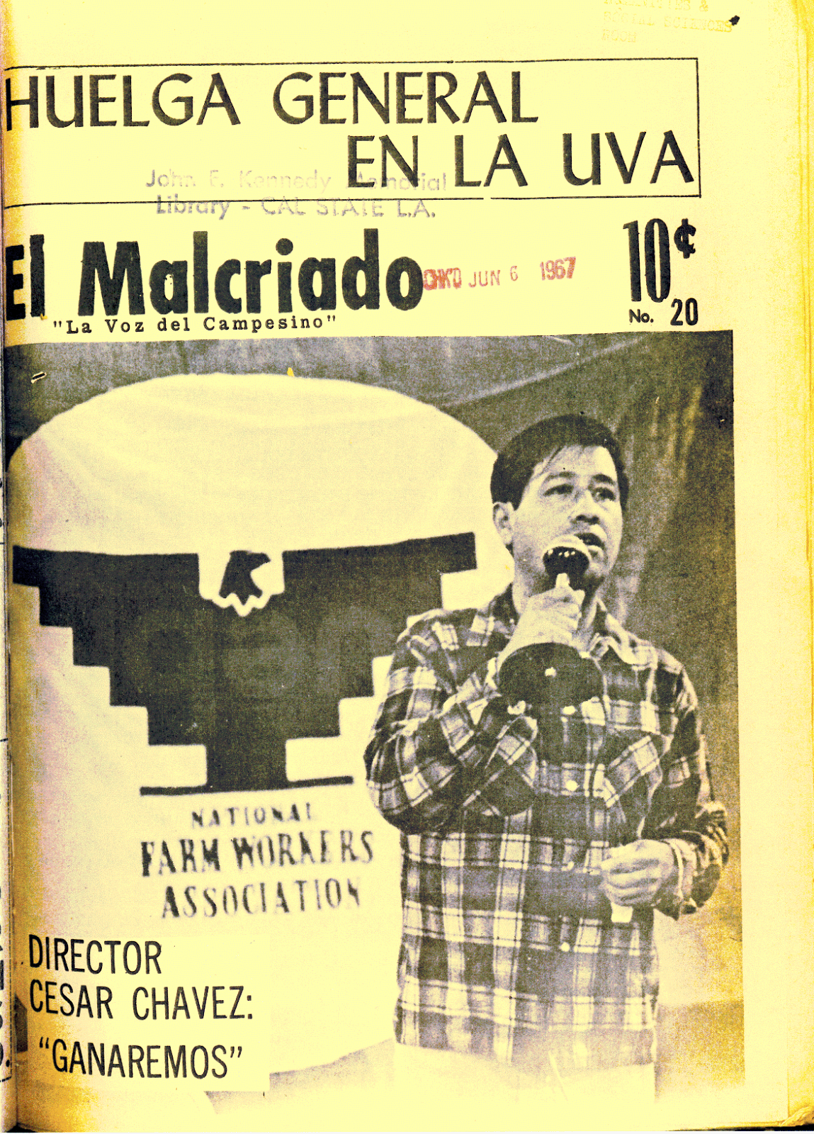 c atilde copy sar ch atilde iexcl vez and the 1968 fast a turning point for the united in of 1965 filipino table grape workers in delano went out on strike one week later a mass meeting of the national farm workers association