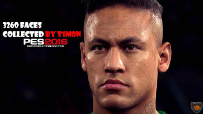 PES 2016 - 3260 Faces Collected by T1m0n Источник: http://pes-files.ru/