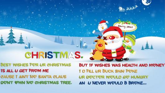 free short funny christmas poems for children magazine story