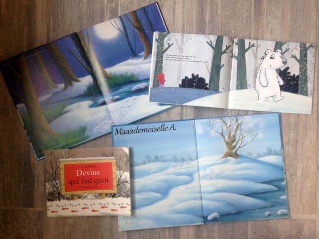 || Activité : Paysage d'hiver d'après les illustrations d'un album (L'art est un jeu d'enfant # 10)