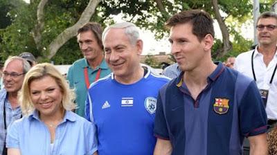 ميسي سفيرًا لشركة إسرائيلية