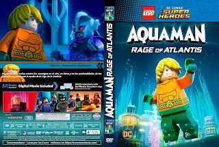 CARATULALEGO DC Comics Super Heroes: Aquaman – Rage of Atlantis 2018 [ COVER DVD]