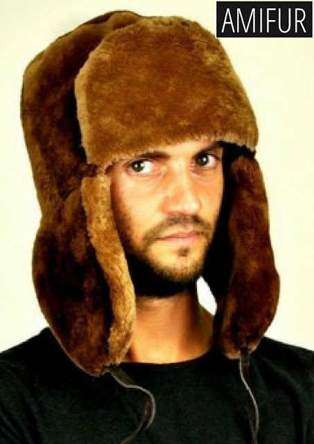 Beaver fur hat - russian style