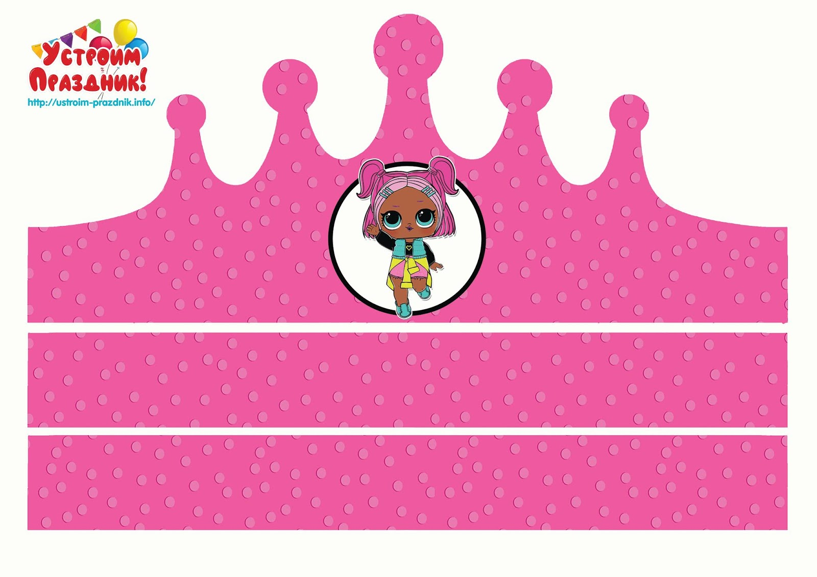 photo about Printable Crowns identify LOL Speculate Free of charge Printable Crowns. - Oh My Fiesta! inside of english