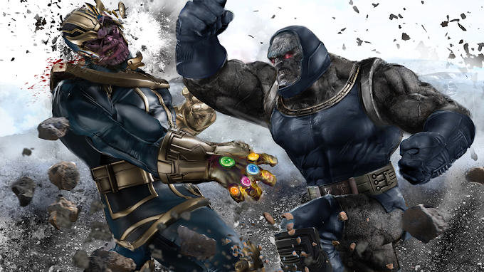 Papel de parede: Darkseid vs. Thanos