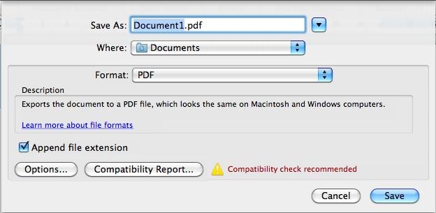como diminuir o tamanho do pdf mac