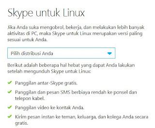 Download Skype Terbaru Untuk Pengguna Linux