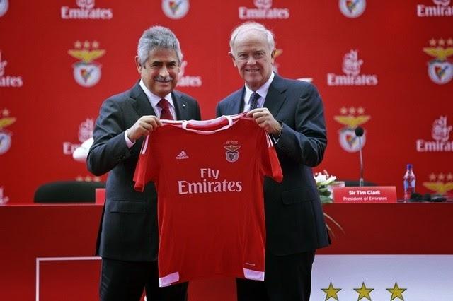 Emirates llega a Portugal a través del Benfica