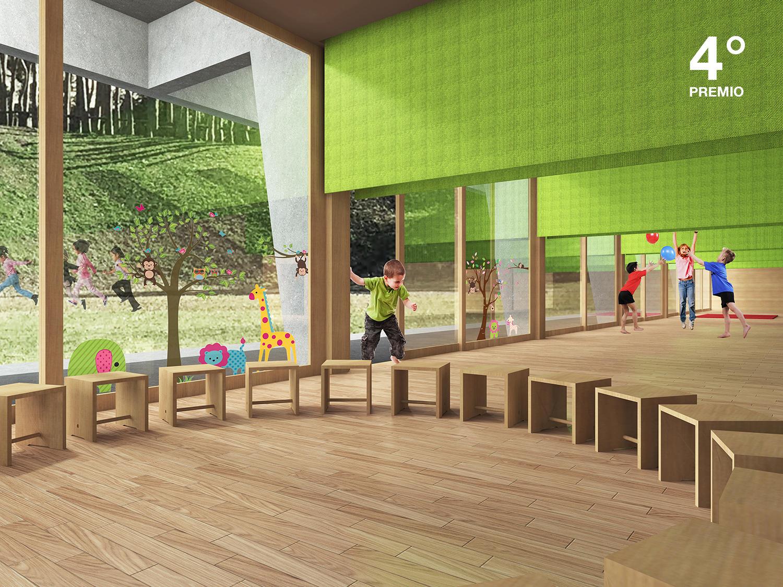 Homa architetti sagl scuola dell 39 infanzia taverne for Scuola arredatore d interni