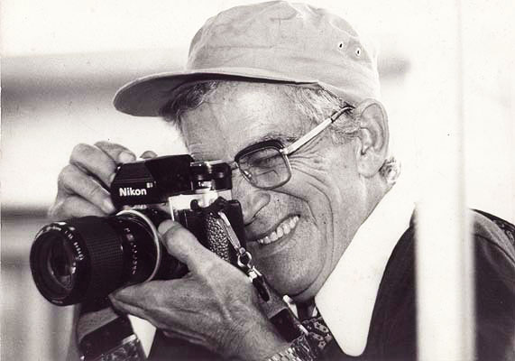 Isauro Rodrigues, fotógrafo. Anos 1970.