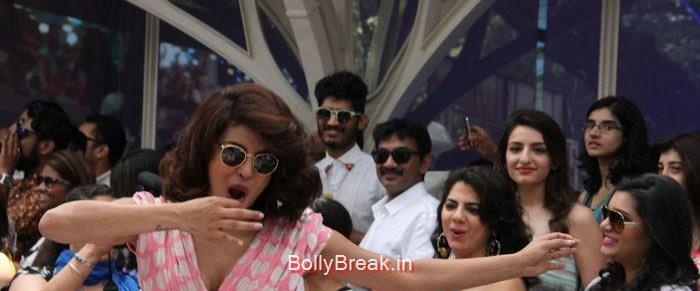 Priyanka Chopra, Hot Pics of Priyanka Chopra Anushka Sharma At 'Dil Dhadakne Do' Music Launch Photo Gallery