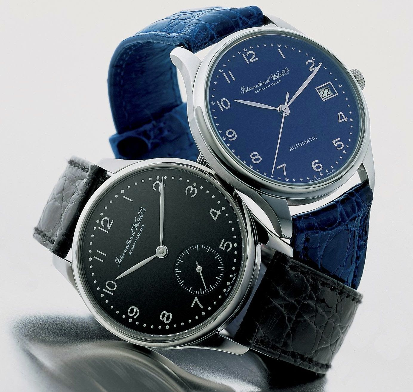 IWC Schaffhausen Portuguese Automatic 35 mm (Platinum Case with Blue Dial or Steel Case with Black Dial)