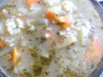 Zupa z kaszy
