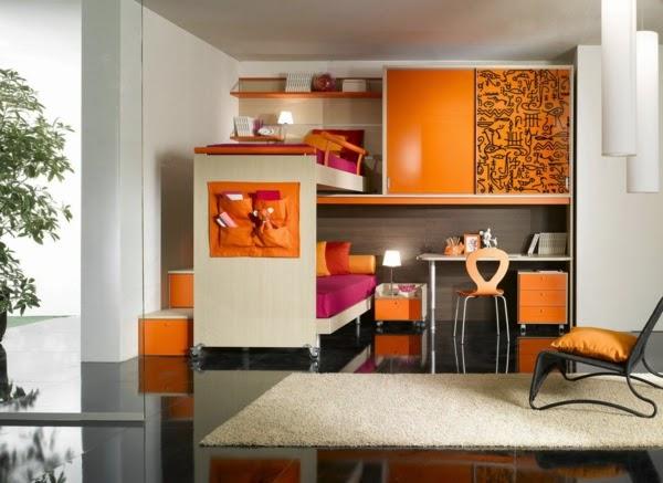 10 dormitorios juveniles en espacio peque o dormitorios - Dormitorio pequeno juvenil ...