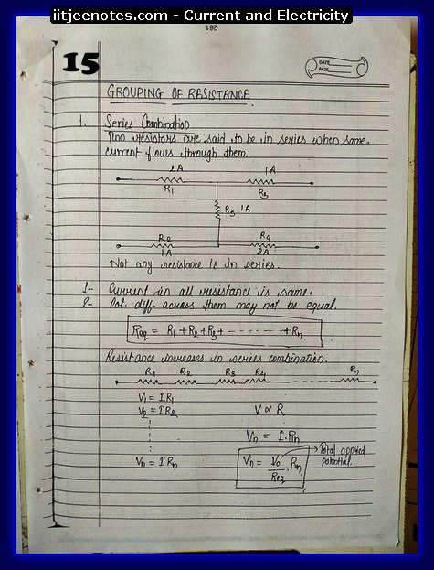 Current And Electricity Notes5
