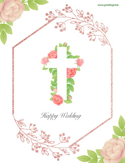 happy wedding wishes card