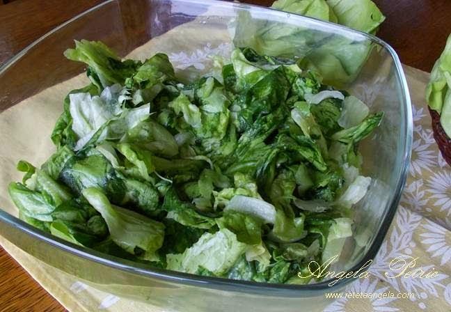 Salata verde-etapa 4