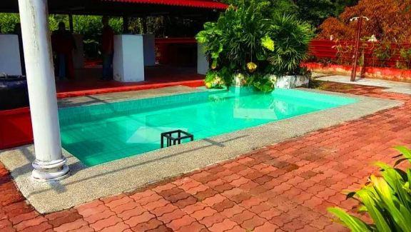 Homestay Kuala Sungai Baru Melaka kolam renang