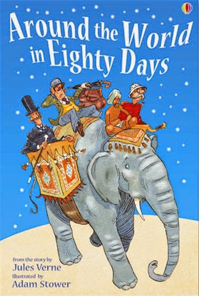 AROUND THE WORLD IN EIGHTY DAYS (non illustrated)
