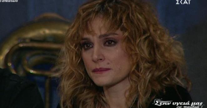 Εσπασε στο κλαμα η Ελεωνόρα Ζουγανέλη στον Παπαδόπουλο! Κανεις δεν περιμενε να τους πει