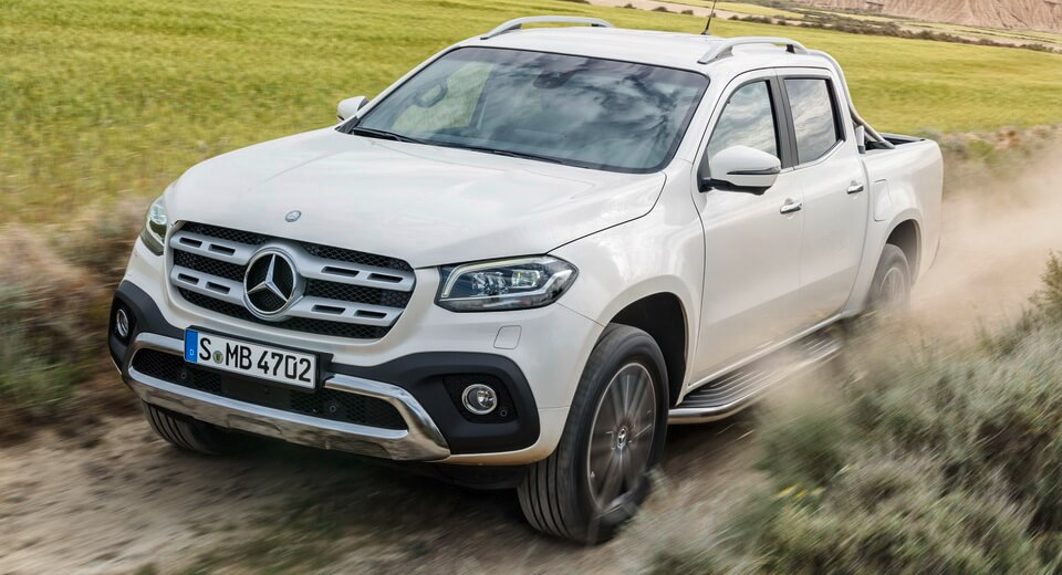 Mercedes-Benz reveals specification for X-Class pick-up