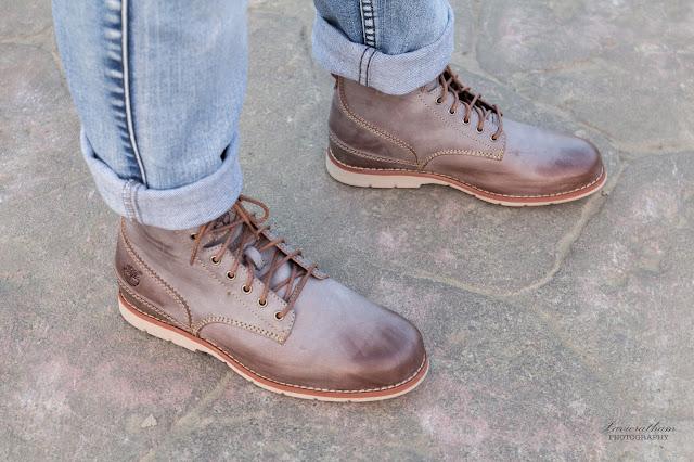 「敗家之路」Timberland 深褐色復古摔紋高筒靴 - 15