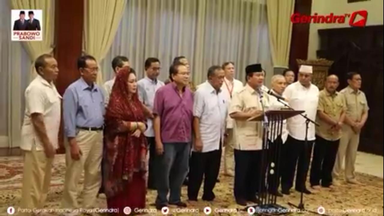 554 Petugas KPPS Meninggal, Prabowo Desak Aparat Lakukan Ini