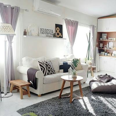 Furniture Ruang Tamu Minimalis Sederhana Ukuran Kecil