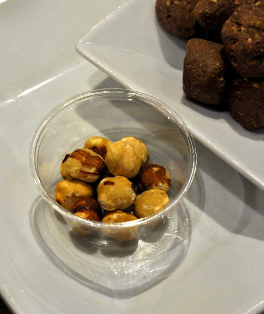 Ingredients for Perugina Baci at Eataly NYC | Taste As You Go