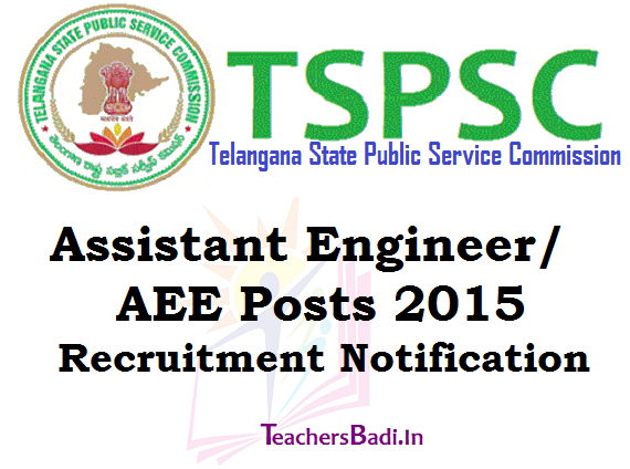 TSPSC,AE posts,Recruitment