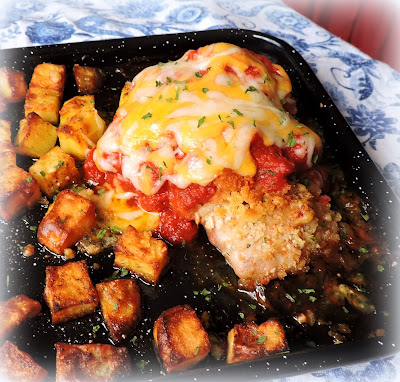 Quick & Easy Chicken Parm for Two