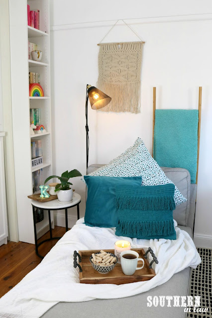 Southern In Law How to Make a Cosy Reading Nook in Your Home