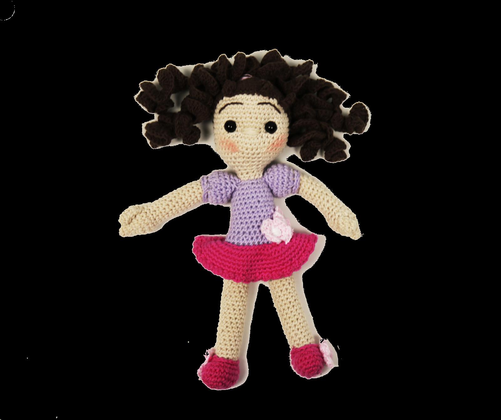 Muñeca para los mas pequeños, patrón escrito