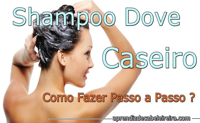 Shampoo Caseiro Dove Passo a Passo
