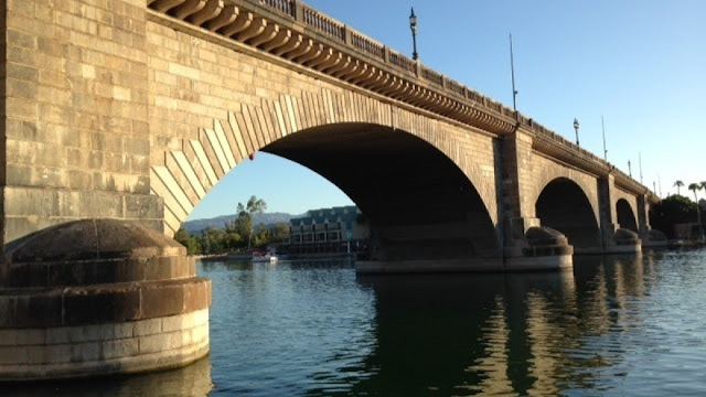 The original London Bridge is in Arizona on Lake Havasu.