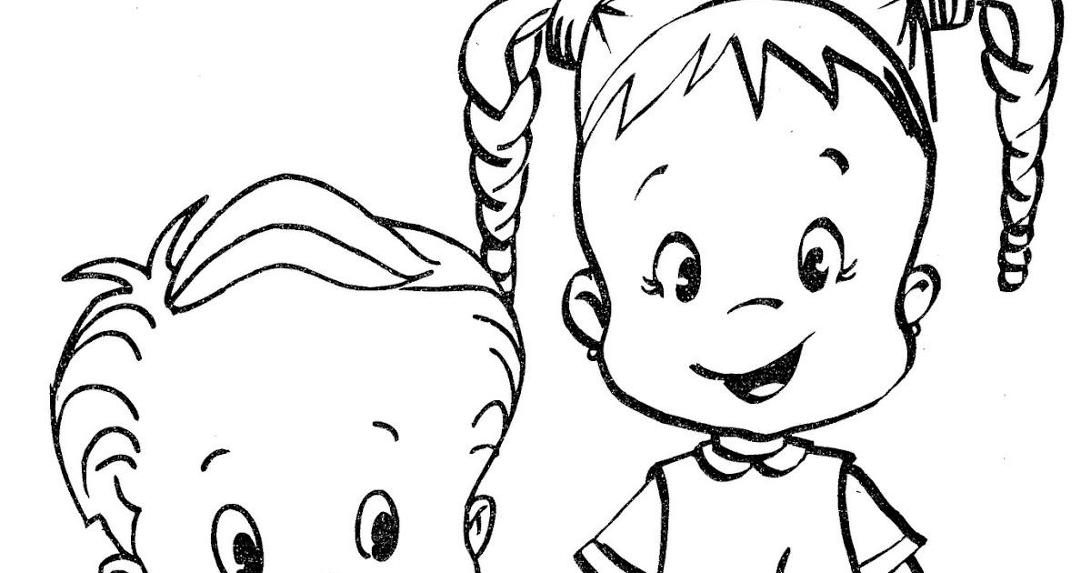 BAÚ DA WEB : Desenhos De Meninos E