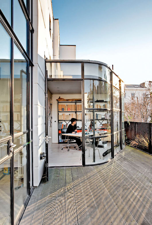 Study Room Glass: Beautiful Object: Brit Art House